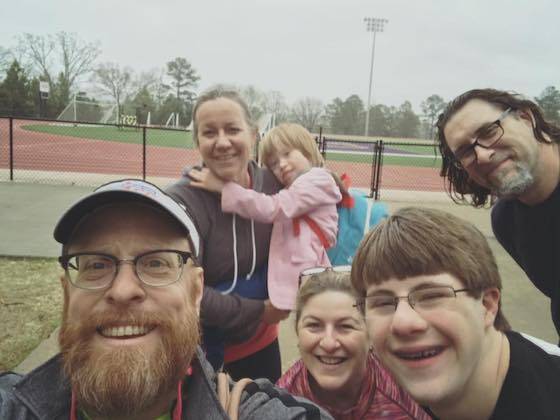 The benefit of physical fitness in the Down Syndrome Community.